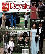 Royalty Monthly Magazine November 2018 Celebrating Norway's Golden Couple