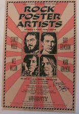 Ubiquity Gallery Rock Poster Artists Stanley Mouse signed  poster
