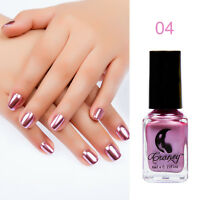 Metallic Nail Polish Magic Mirror Effect Chrome Polish Varnish Silver Blue Red