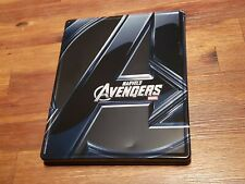 Avengers Marvel's STEELBOOK (Blu-ray 2D/3D + DVD) Target Exclusive w/ bonus disc