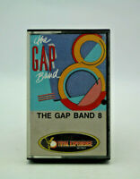 Gap Band 8 by The Gap Band Audio Cassette Tape Pre-Owned Good