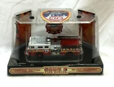 1999 Code 3 Fire Truck #75 Ny New York Fire Dept & Patch New Boxed Diecast 1:64
