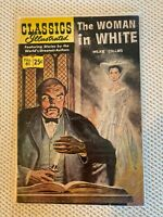 1947 Classics Illustrated The WOMAN in White Wilkie Collins No 61 Fine