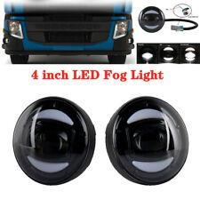 1Pair 4inch 10-36V 30W Car LED Fog Light Lamp Fit for Volvo VHD VNM FE FL Trucks
