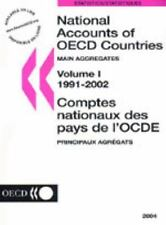 National Accounts of Oecd Countries: Main Aggregates 1991-2002 (National Account