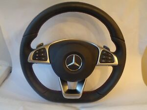 Mercedes Benz Multifunction Steering wheel airbag Shift paddles AMG W204 W212 MB