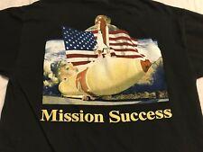 Lockheed Martin SPACE SHUTTLE External Tank Team NASA T Shirt Adult Large!