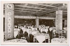 Real Photo Postcard Dining Room @ Old Faithful Inn Yellowstone, Wyoming~106751