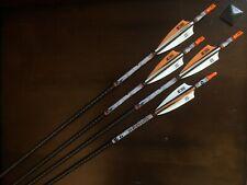 Mossy Oak 31 in 350 spine 8.7 gpi Carbon Arrows Lot of 4