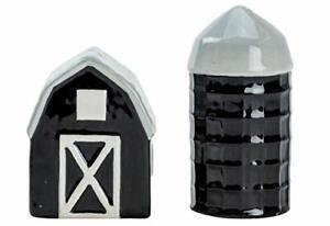 Boston Warehouse Urban Farmhouse Salt and Pepper Shakers, 2 piece set