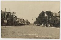 """RPPC 1904-1918 Broadway From The South Miller South Dakota """"Copr""""1909"""