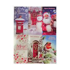 GC202 8 Noël traditionnel Argent Bon portefeuilles cartes cadeaux /& Enveloppes 2x4