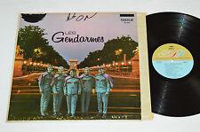LES GENDARMES Self-Titled (Ne Me Quitte Pas) LP 1969 Idole ID-322 Quebec Pop VG