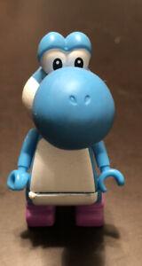 RARE K'NEX Blue Yoshi Nintendo Super Mario Mystery Figure SERIES 3
