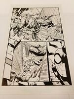 Moon Girl and Devil Dinosaur 42! Original page art! Spiderman Le Beau Underwood!