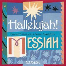 Hallelujah! Great Choruses from Handel's Messiah - His Majesty's Clerks - CD,