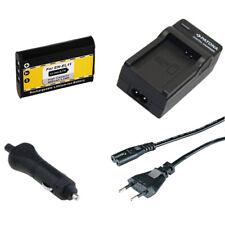 Batteria Patona + caricabatteria casa/auto per Nikon EN-EL11