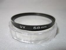 Meking 58mm Ultra-Violet UV lens Filter Protector for Nikon Canon Sony Camera