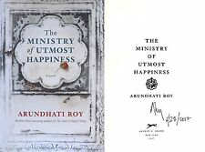 Arundhati Roy~Signed & Dated~The Ministry of Utmost Happiness~1st/1st + Photos!