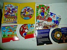 ASSORT. LOT Wii MARIO BROS. MARIO SONIC LONDON 2012- SUPER MARIO BROS-GALAXY