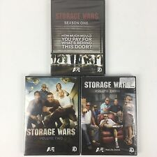 Storage Wars Season 1 + Volume 2 & 3 on DVD One Two Three NEW