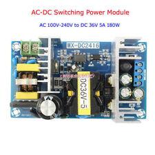 AC-DC Inverter 110v-220v to 36V 5A 180W Switching Power Adapter Converter S250