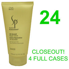 CLOSEOUT! 24 NEW WELLA SP 30-SECOND HAIR REPAIR CREME/CREAM,5.1 OUNCE BOTTLES