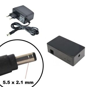 Contenitore per APRICANCELLO GSM più alimentatore switching 12 V - 2,5 A