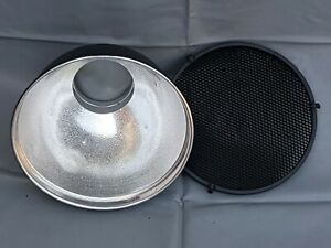 Bowens S-Fit 10 inch Reflector Dish & Honeycomb