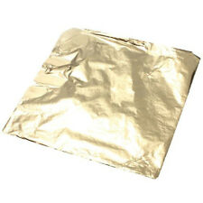 100 Sheet imitation Gold Copper Leaf 14 x 14 cm Craft For Gilding Art Work DIY
