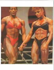 Lenda Murray+Gladys Portugues Female Bodybuilding Muscle Color Photo