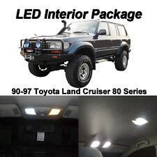 8 x White SMD LED Interior Light Package For 90-97 Toyota Land Cruiser J80 LX450