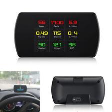 Multi Display Interface Car OBD2 Digital Meter HUD Head UP Display Driving Alarm