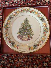 Lenox Christmas Trees Around The World Plate 2004 Brazil Still In Box!