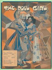 COME ON OVER HERE cpy 1 - DOLL GIRL - 1912 JEROME KERN - CARLE - HATTIE WILLIAMS