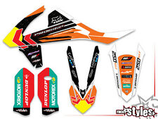 KTM sx sxf exc 85 125 250 300 350 450 2016 - | MX Décor Décalques Graphics t. Cairol
