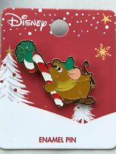 Disney Loungefly Cinderella Mice Gus Gus Christmas Candy Cane Holiday Pin