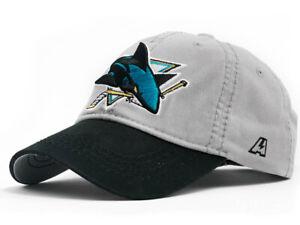 "San Jose Sharks ""Classic"" NHL baseball cap hat, unstructured"