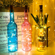 2M Garland Wine Bottle LED Colorful Fairy Lights Copper Wire  Decorations Party