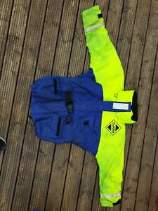 Fladen Rescue System Bib and Jacket Size L Used