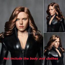 1/6 Scale Black Widow 5.0 Female Head Sculpt F 12'' Phicen Body Figure Hot Toys