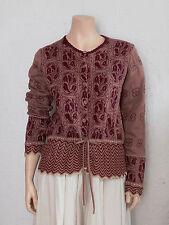 GUDRUN SJÖDEN patterned cotton cardigan