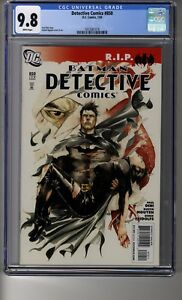 Detective Comics (1937) # 850 - CGC 9.8 WHITE Pages - First Gotham City Sirens