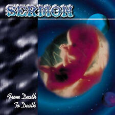 SERMON - From death to death CD (Wild Rags, 1998)  *rare OOP