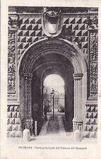 # FERRARA: porta principale del palazzo dei diamanti