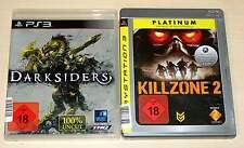 2 PLAYSTATION 3 PS3 SPIELE SAMMLUNG KILLZONE 2 DARKSIDERS SHOOTER NEUWERTG