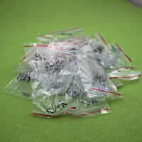 100Pcs 20 Values 10-1M Ohm R 1W 5% Carbon Film Resistor Assortment Kit Assorted