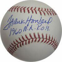 Frank Howard Hand Signed Autographed Major League Baseball 1960 NL ROY