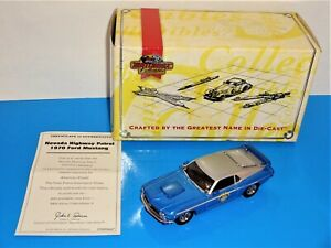 Matchbox Collectibles Nevada Highway Patrol 1970 Ford Boss Mustang Blue & Silver
