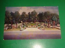 ZT280 Vintage Postcard Ocala Motor Court Silver Springs Blvd Ocala Florida